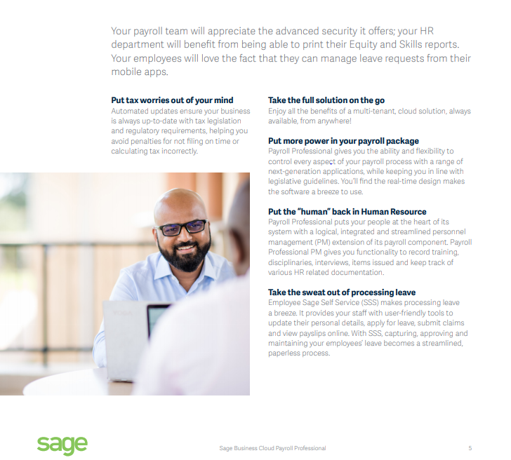 Sage Business Professional Cloud | Simply Business